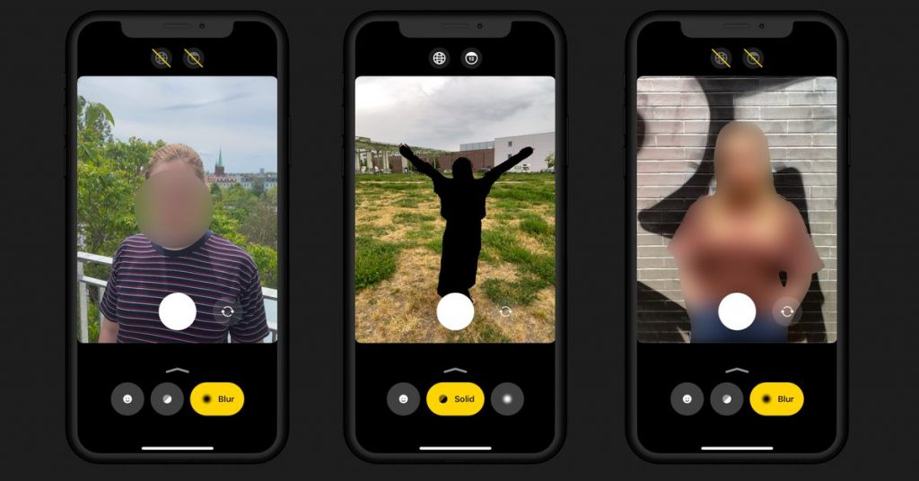 Anonymous Camera is a new app that uses AI to quickly anonymize photos and videos