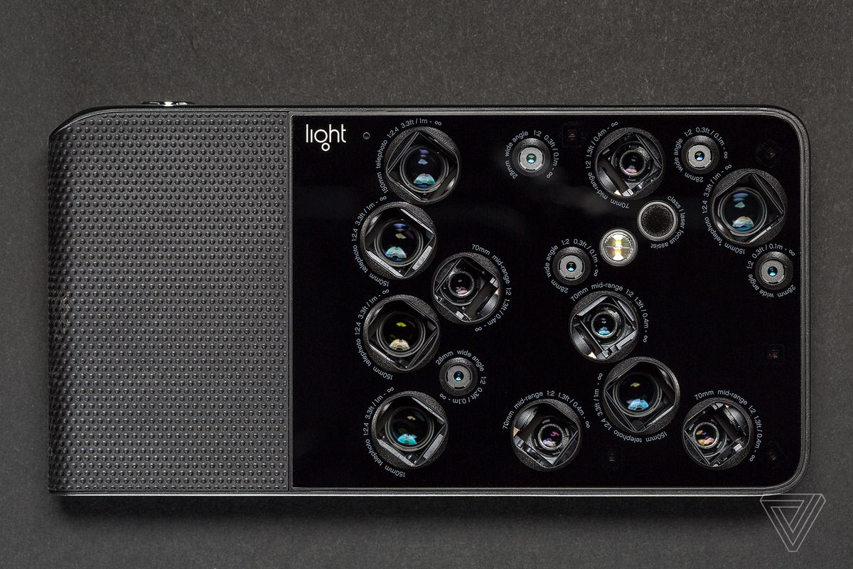 An image of the Light L16 camera.
