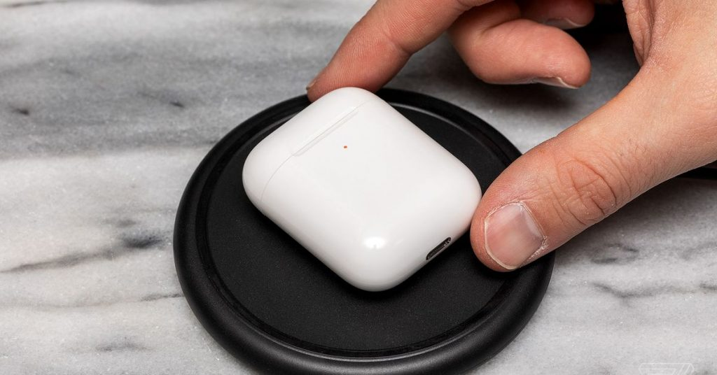 Apple's AirPods with wireless charging are available refurbished for $110