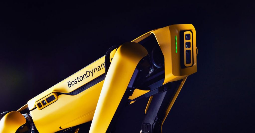 Boston Dynamics will now sell any business its own Spot robot for $74,500