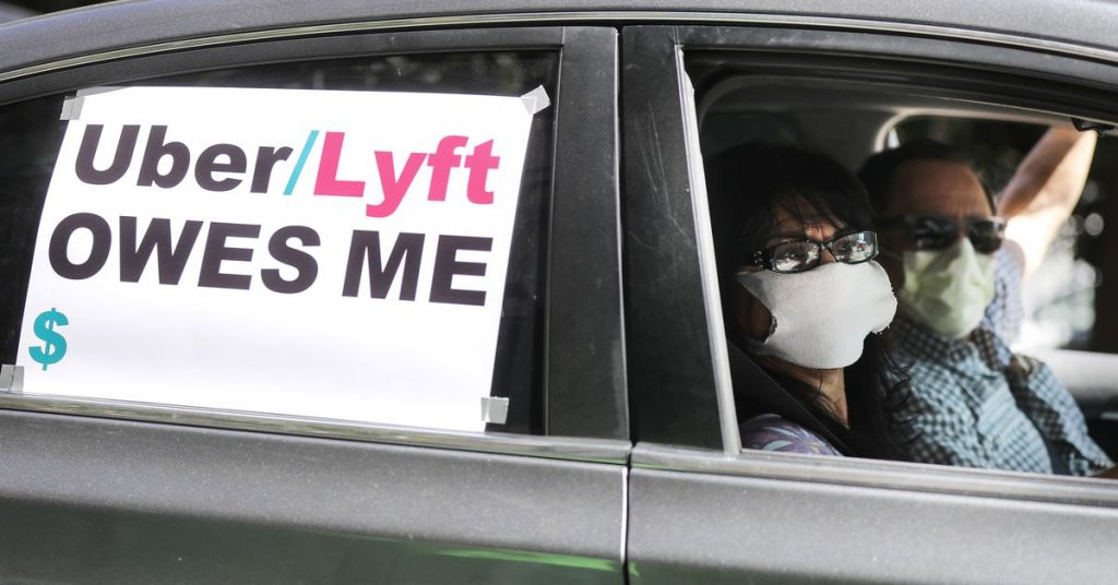 California seeks to force Uber and Lyft to reclassify drivers as employees within weeks
