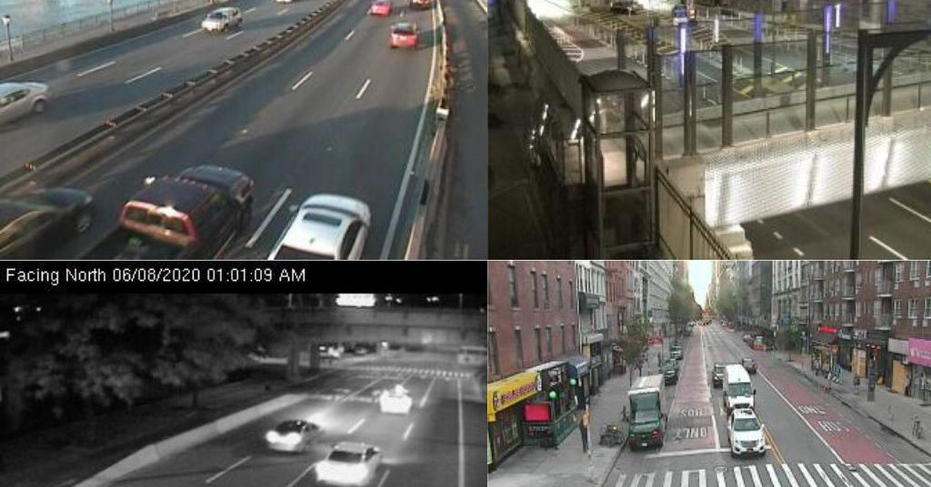Check out this archive of New York streets throughout the day