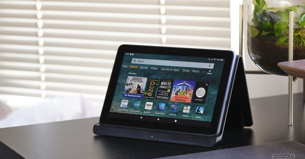 Fire HD 8 Plus review: the Amazon appliance