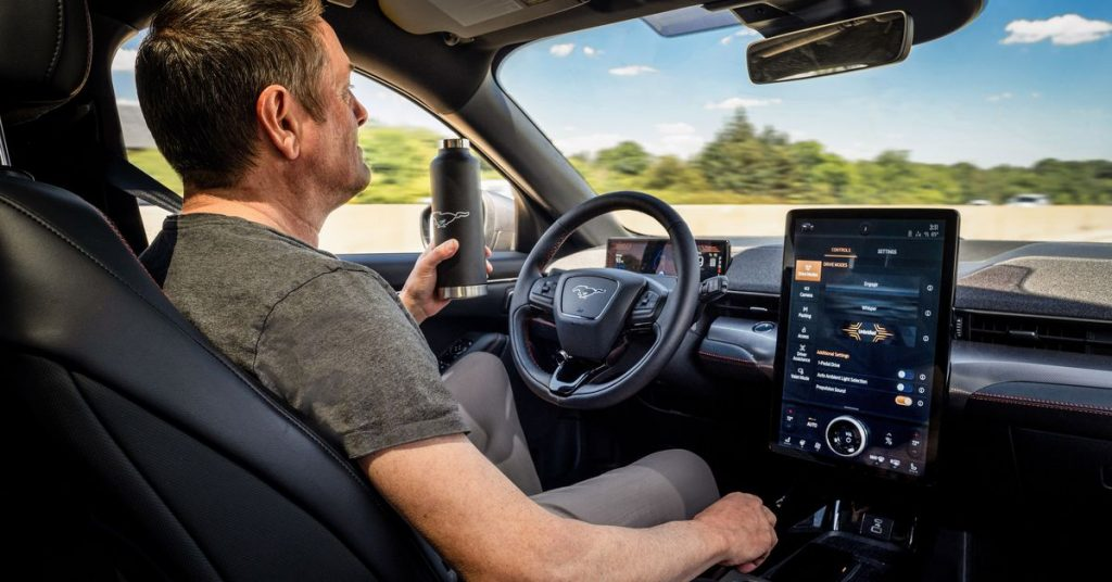 Ford's hands-free driving feature won't be available until late 2021
