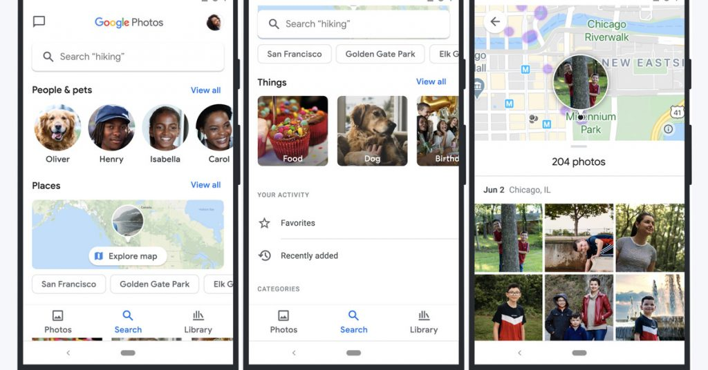 Google Photos gets a map view as part of a big new redesign