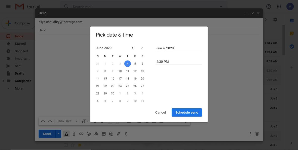 """""""Pick date and time"""" window"""