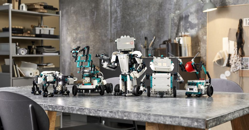 Lego's new Mindstorms kit lets kids build their own walking, talking robots