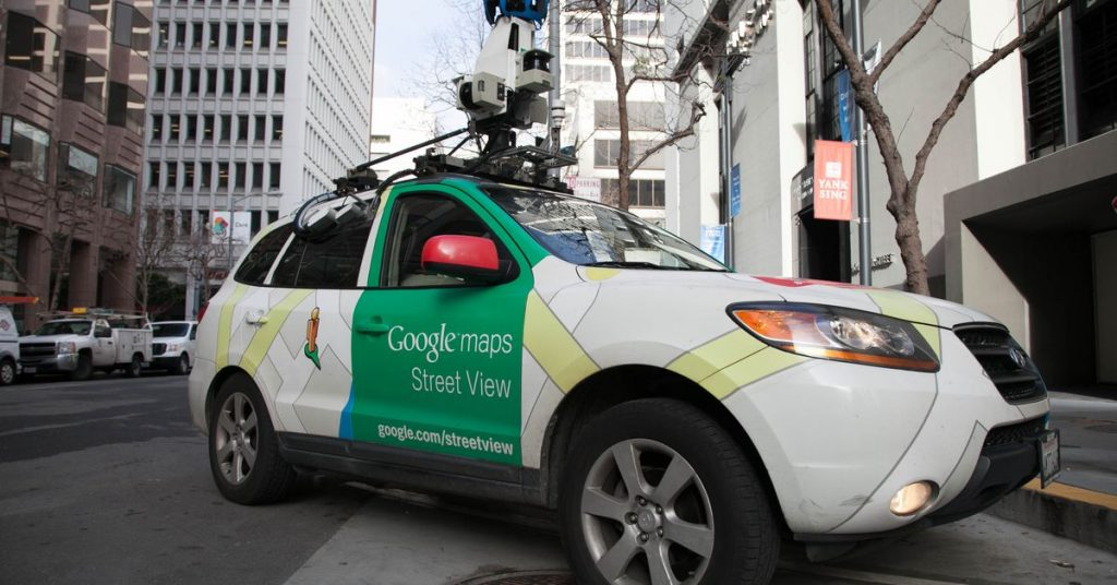 New data zooms in on air pollution mapped by Google Street View cars