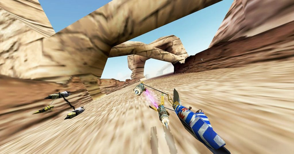 Star Wars Episode 1: Racer zooms onto Switch and PS4