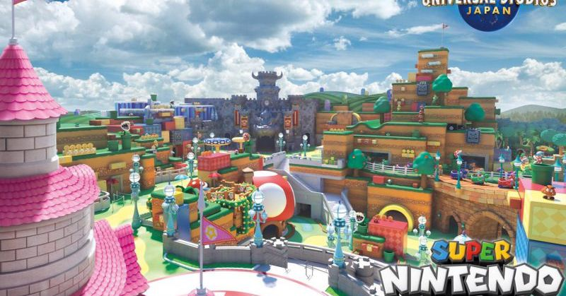 Super Nintendo World Japan's opening indefinitely delayed due to coronavirus.