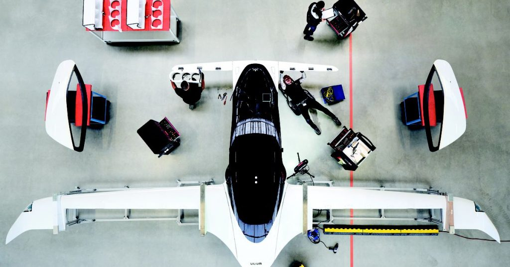 Tesla's second largest shareholder invests $35 million in air taxi startup Lilium