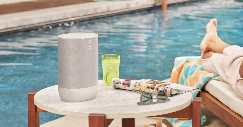 The $399 Sonos Move now comes in white, adds an extra hour of battery life