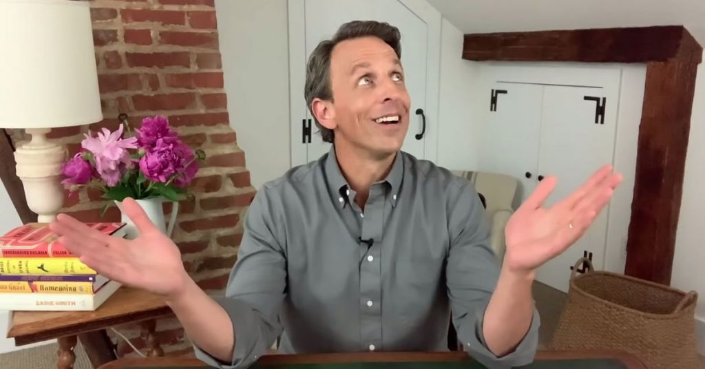 The gadgets Late Night with Seth Meyers uses to keep the show running from home