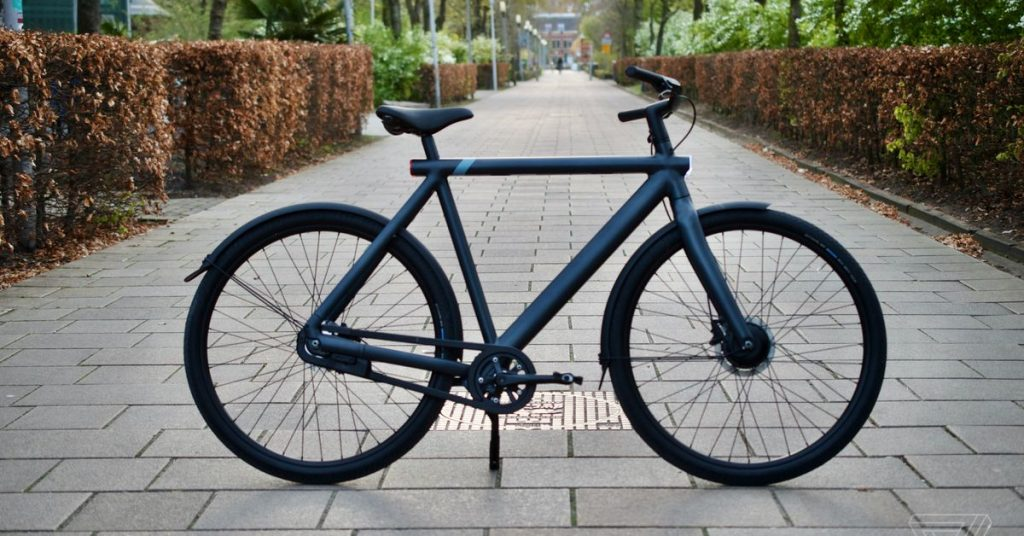 "VanMoof's e-bike ad banned in France for creating a ""climate of anxiety"""