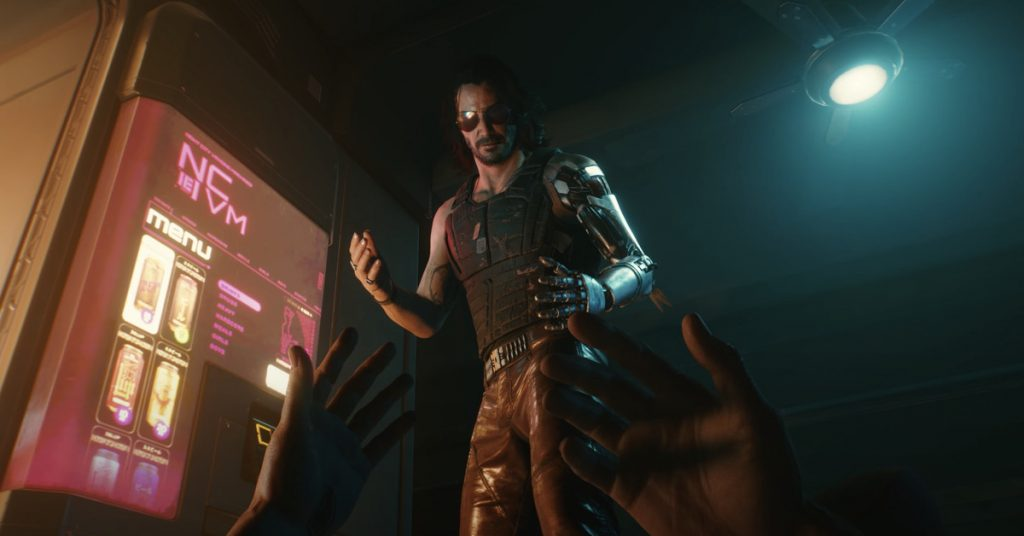 Watch two new gameplay trailers for Cyberpunk 2077