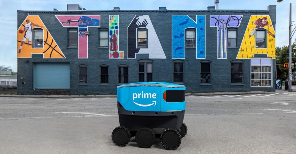 Amazon expands its robot delivery trials to more states