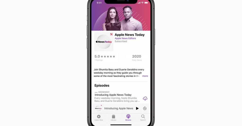 Apple is launching its own daily news podcast to compete with The Daily and others