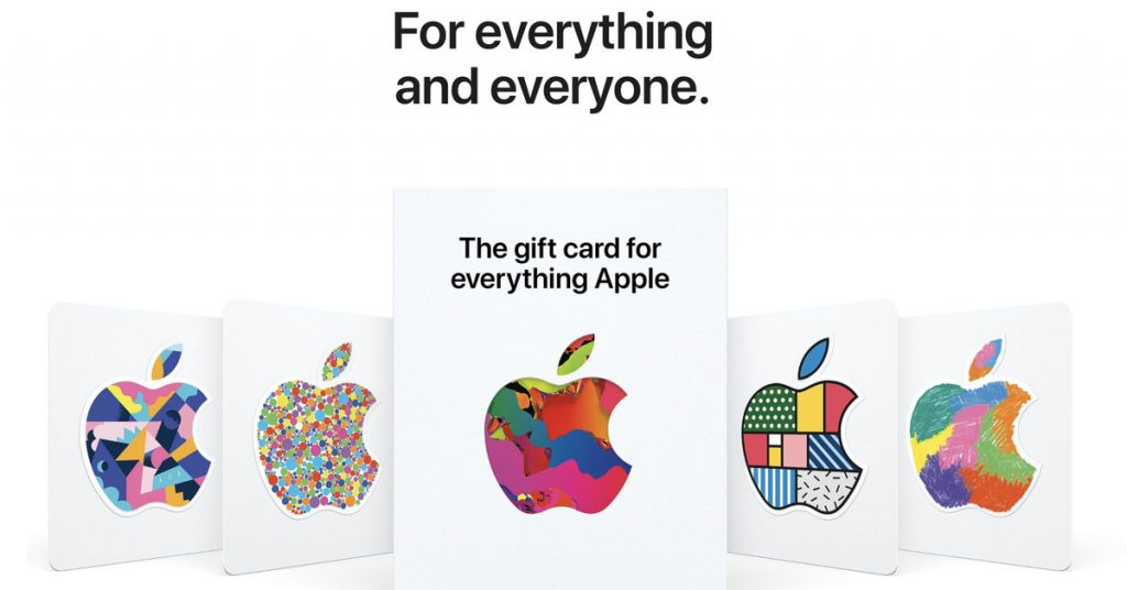 Apple's new 'Everything Apple' is a universal gift card for all its products