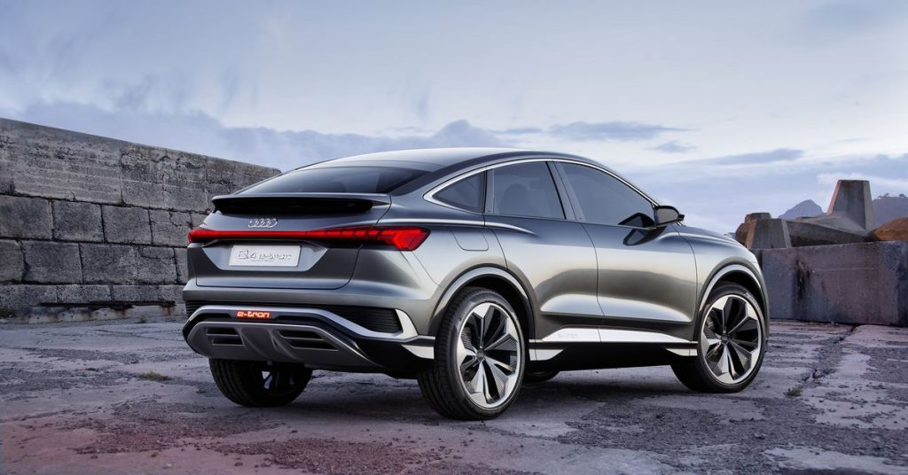 Audi reveals a sporty version of its upcoming electric Q4 SUV