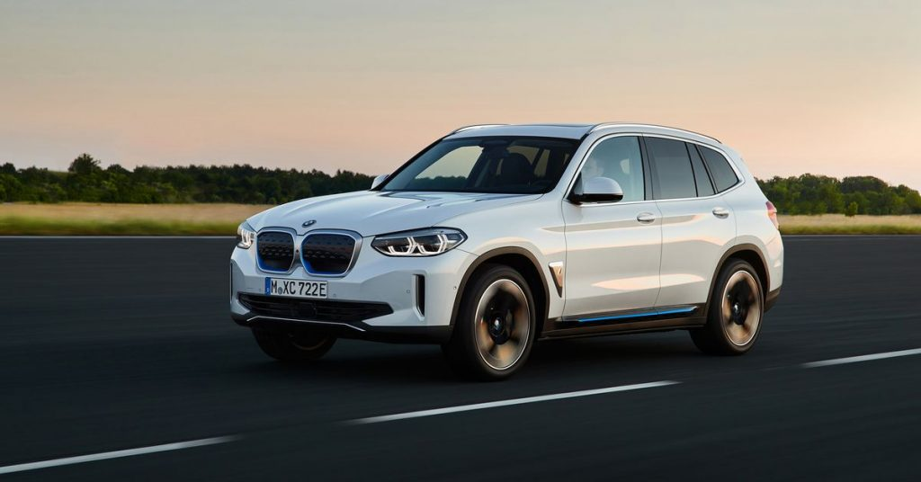 BMW unveils iX3 electric SUV destined for China and Europe