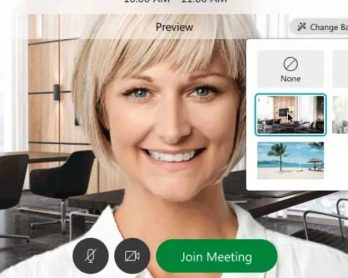 Cisco's Webex videoconferencing software now lets you set virtual backgrounds