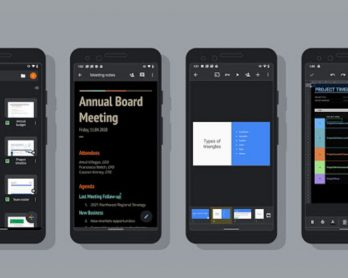 Google Docs, Sheets, and Slides now have a dark theme on Android