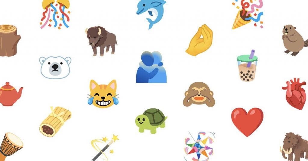 Here's a first look at the new emoji arriving in iOS and Android later this year