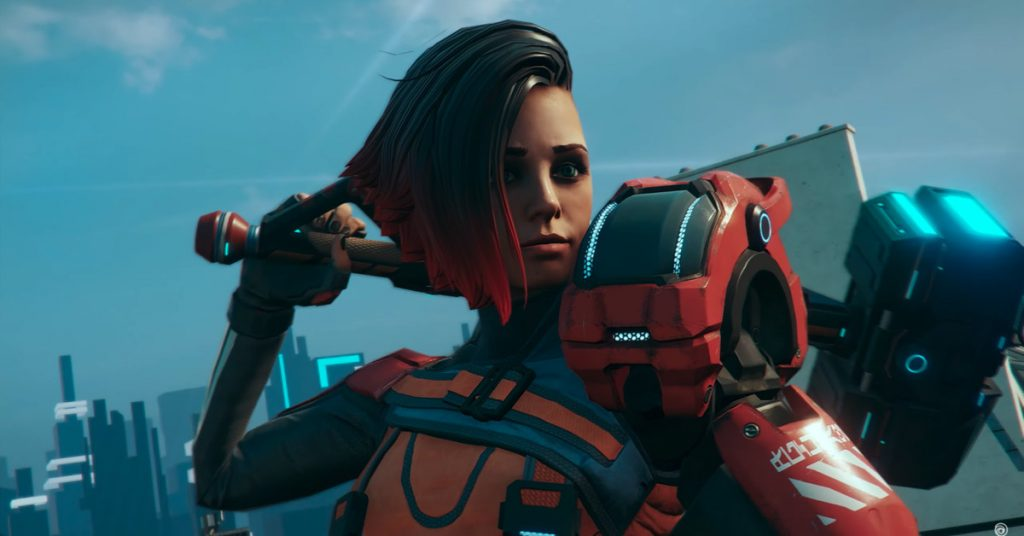 Hyper Scape, Ubisoft's take on Fortnite, launches August 11th