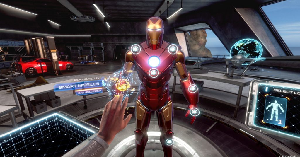 Iron Man VR is a tinfoil version of a truly great Iron Man game