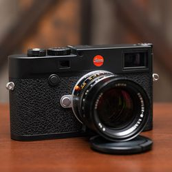 The Leica M10-R with a 50mm 1.4 lens