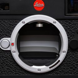 The M10-R has the same silent shutter mechanism as the M10-P