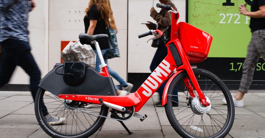 Lime is relaunching Jump's electric bikes in London
