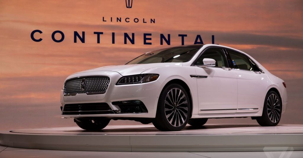 Lincoln cancels the Continental again because the US is hooked on SUVs