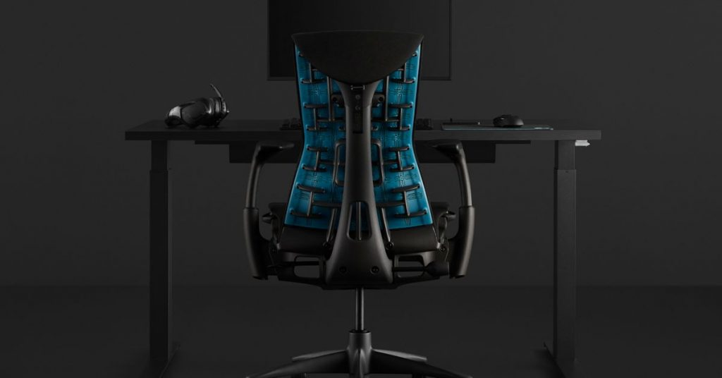 Logitech and Herman Miller team up to make the Embody gaming chair