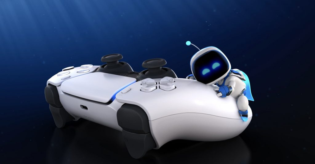 PlayStation 5 pack-in Astro's Playroom is a DualSense controller demo