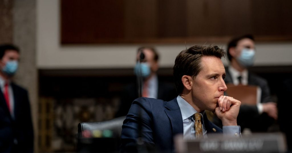 Sen. Josh Hawley wants to strip legal protections from sites with targeted ads