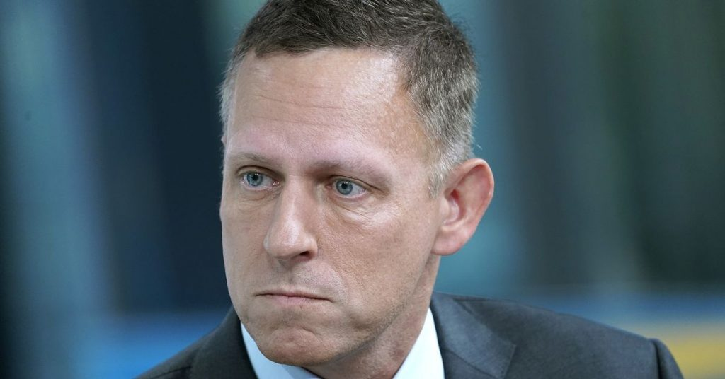 Tech billionaire Peter Thiel may ditch Trump because he thinks Trump will lose