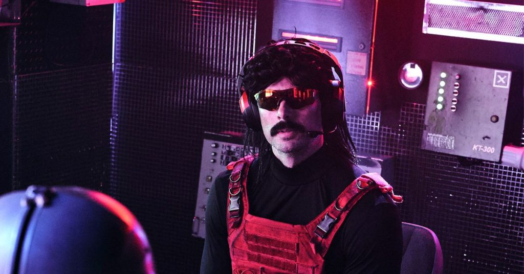 Weeks later, Dr Disrespect still won't say what happened with Twitch