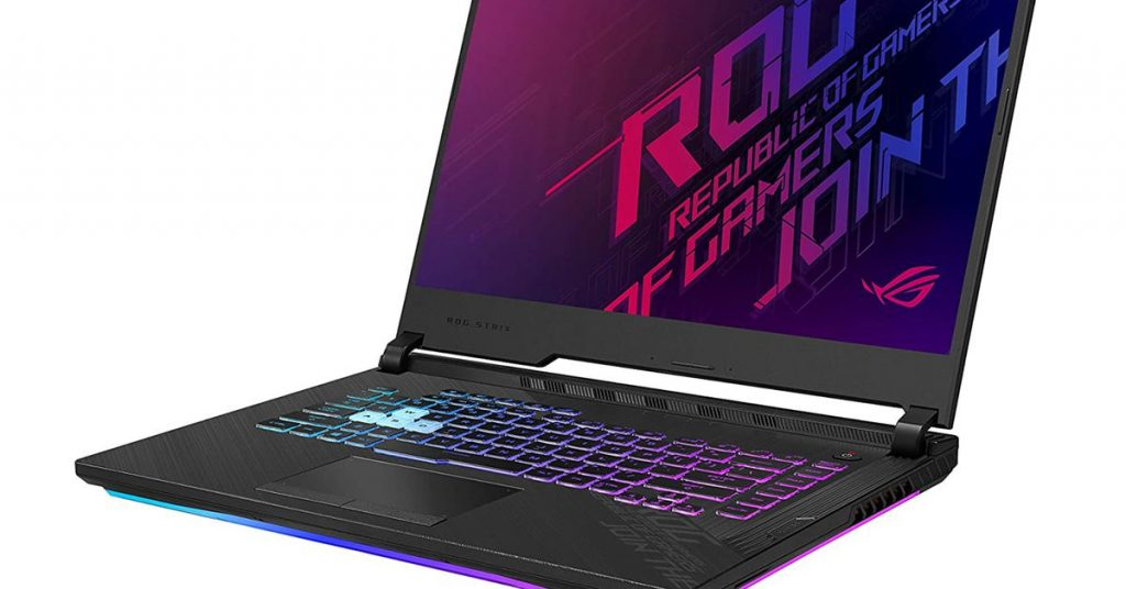 Asus' LED-filled gaming laptop with a 144Hz refresh rate display costs just $880