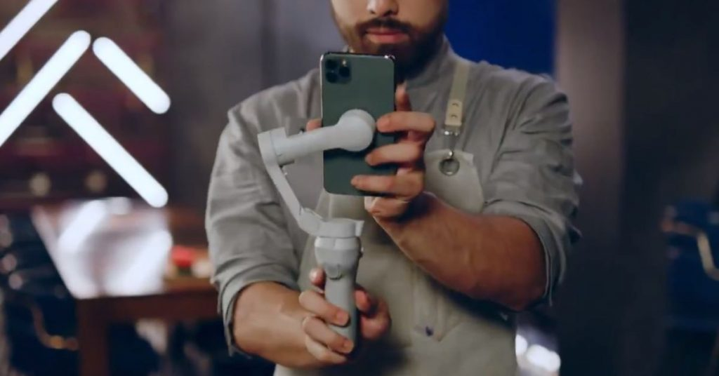DJI Osmo Mobile 4 leaks with convenient magnetic quick mounts