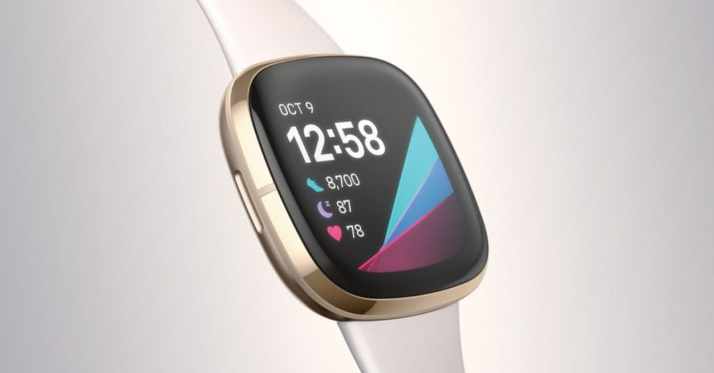 Fitbit's new Sense smartwatch can take your skin's temperature to help you manage stress