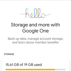 "<em>You can now use Google One for free storage up to 15GB.</em>"" /> You can now use Google One for free storage up to 15GB. <img src="