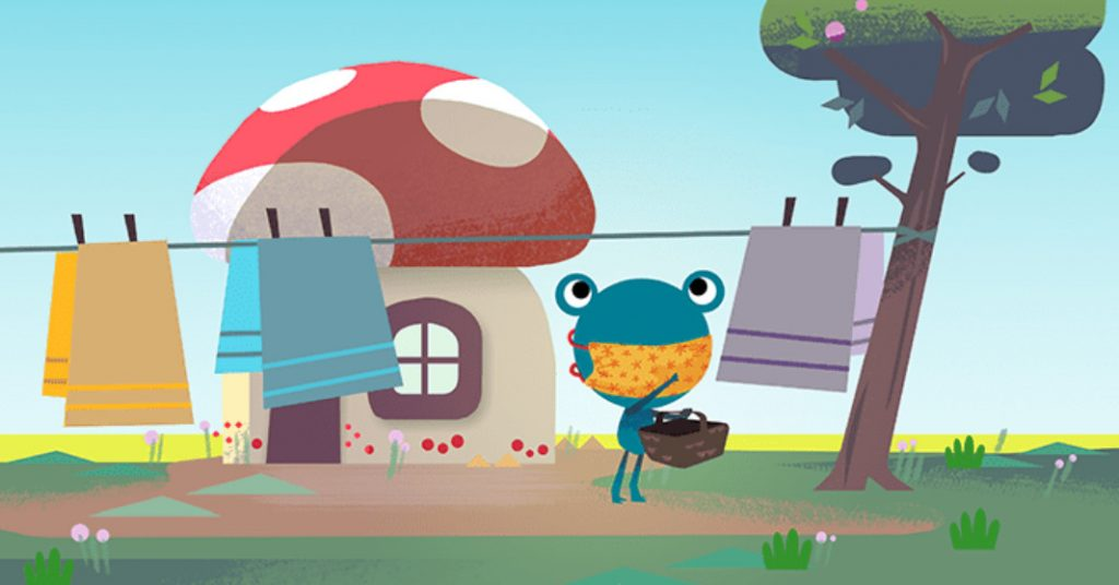 If Google's weather frog can wear a mask, so can you