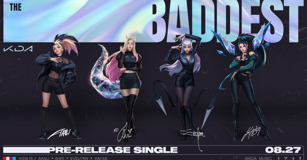 League of Legends' virtual K-pop group K/DA is back with a new song