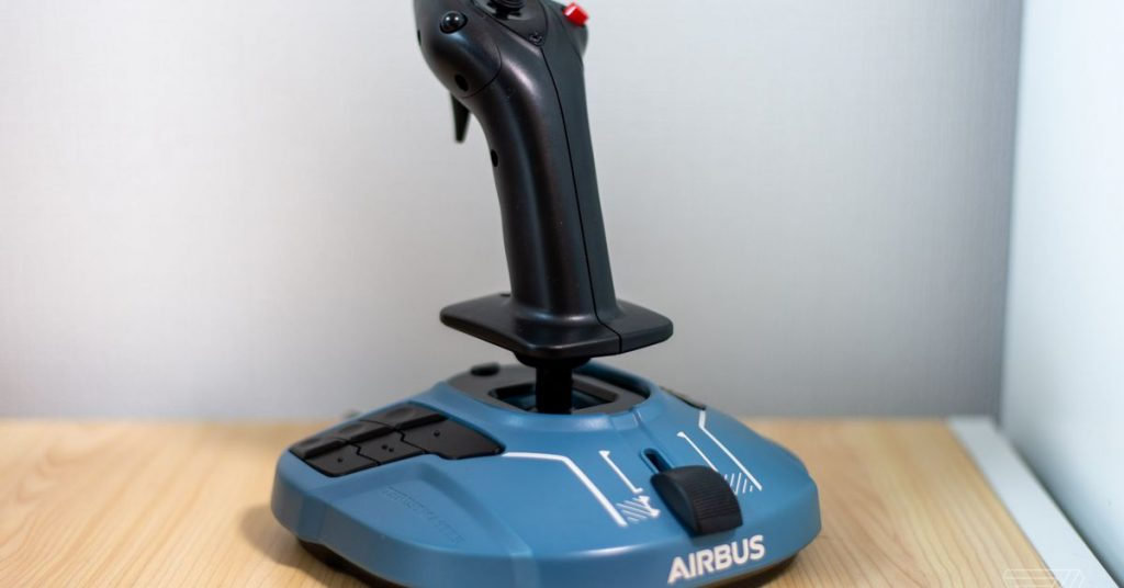 Microsoft Flight Simulator is even better with this Airbus flight stick