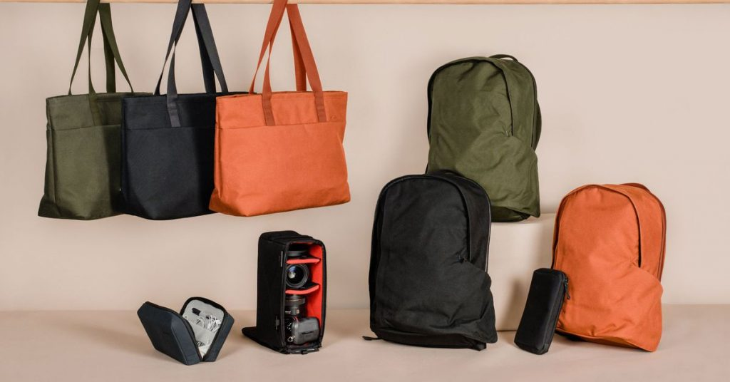 Moment expands its bag line to include backpacks, totes, and organizers