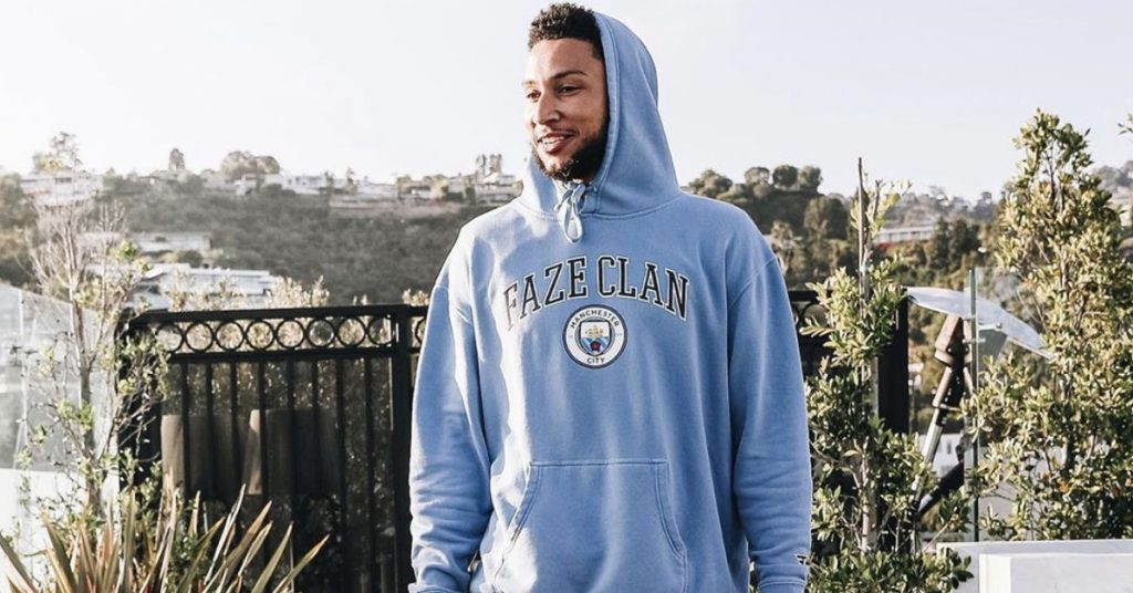 NBA star Ben Simmons joins gaming squad Faze Clan
