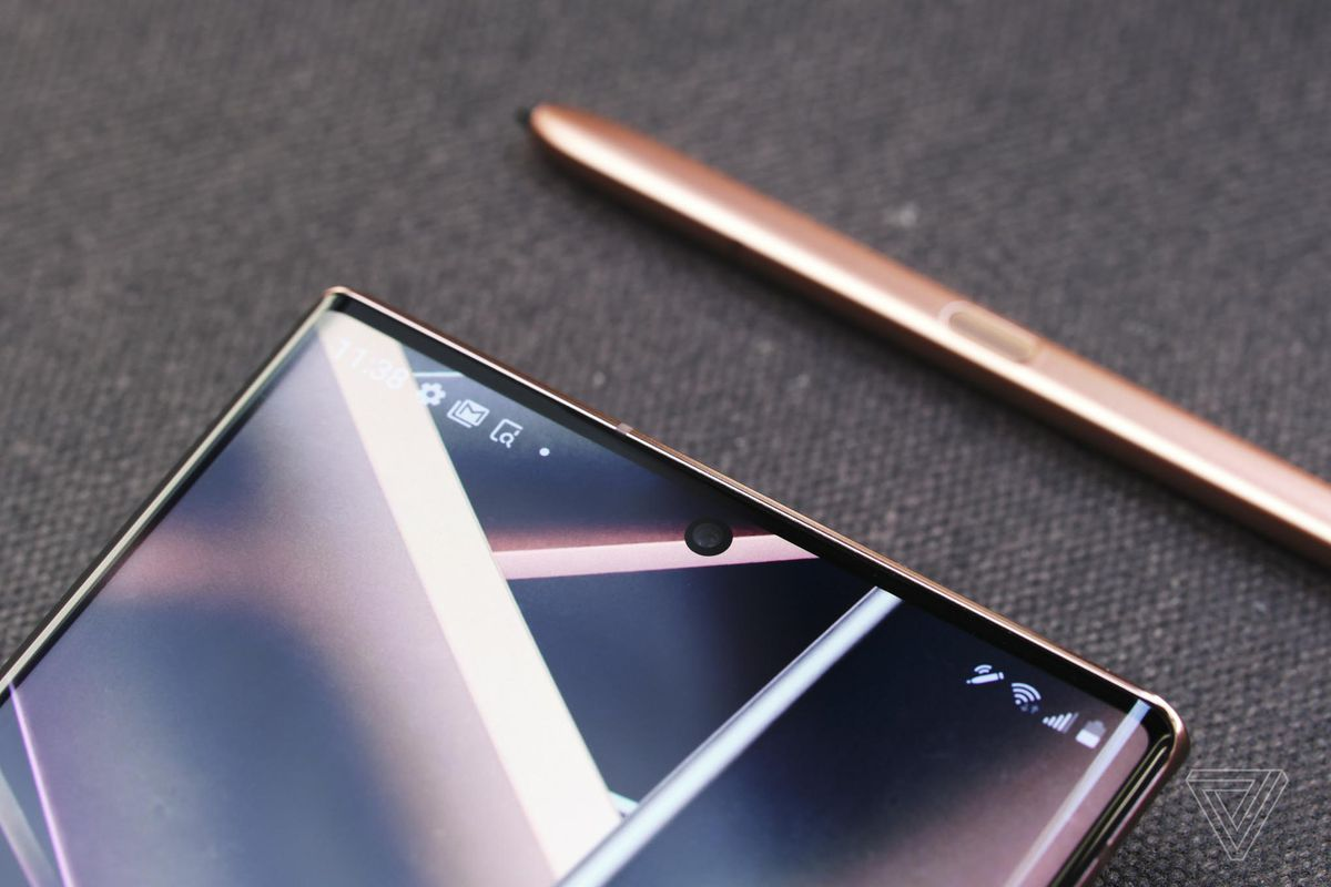 The Galaxy Note 20 Ultra's is as good as any that's ever been put on a phone.
