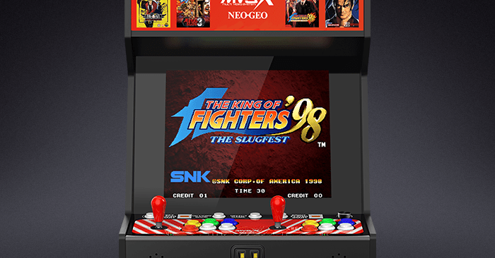 This $500 Neo Geo arcade cabinet has 50 built-in games