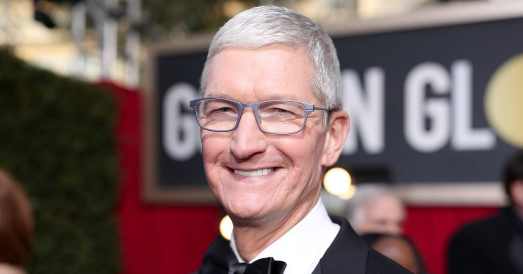Tim Cook is now a billionaire, but not the Jeff Bezos kind